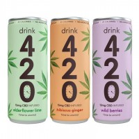 CBD Drink 420 3pack