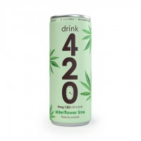 CBD Drink Elderflower Lime
