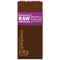 Lovechock RAW bar Blueberry & Hemp seed