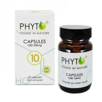 CBD capsules 10mg (Phyto+) RAW
