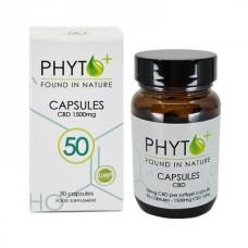 Phyto+ CBD/CBDa capsules 50mg