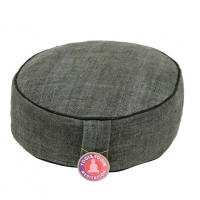 Meditation Cushion hemp -Grey-